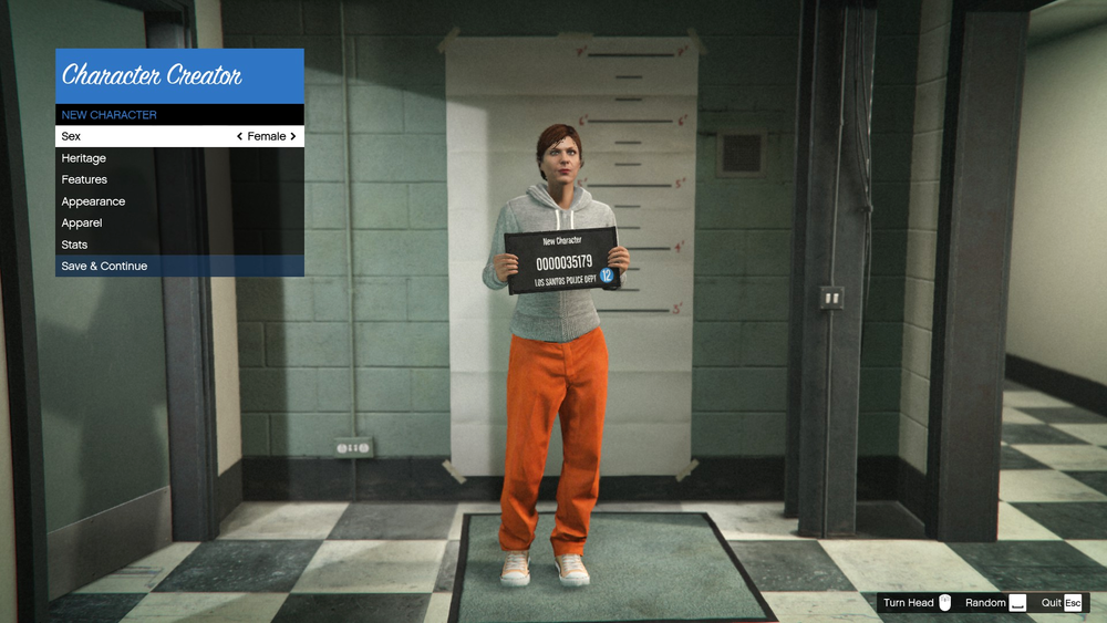 Personal screenshot from Grand Theft Auto V, by Rockstar North, September 17, 2013.