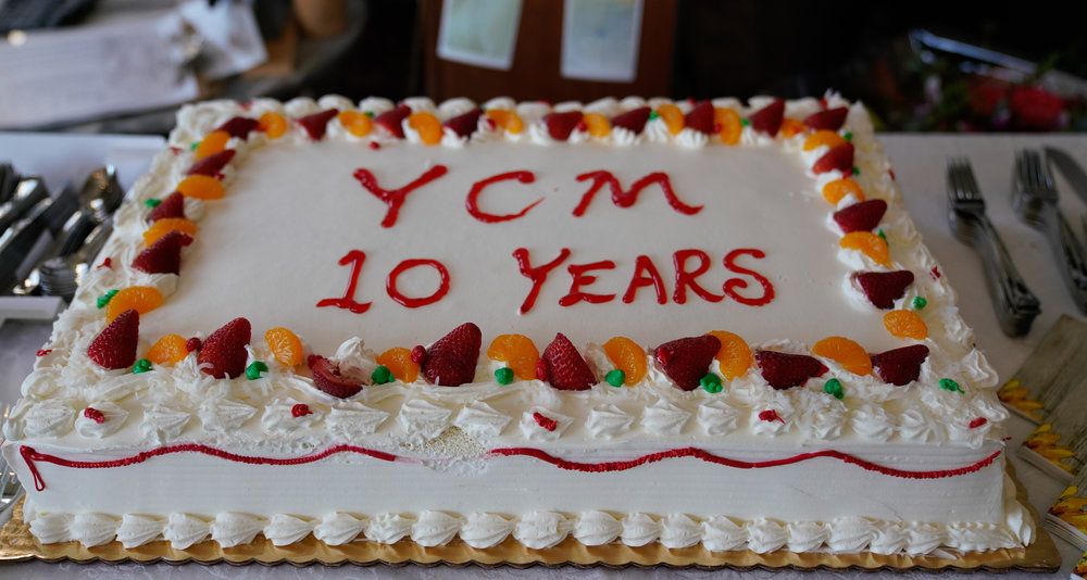 YCM 10th Birthday Cake!