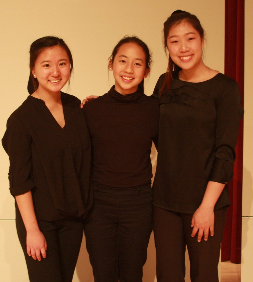 First Prize: Aveline Piano Trio