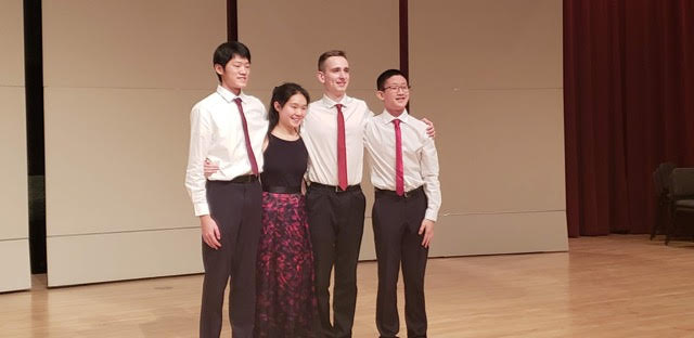 Third Prize: Stellata String Quartet