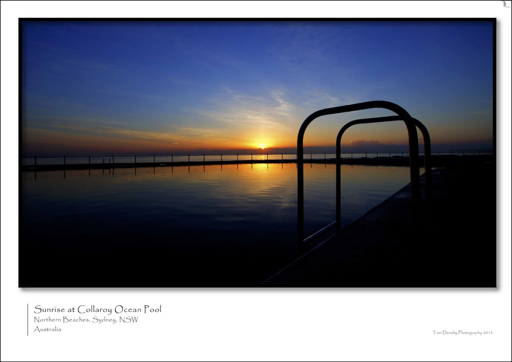 Sunrise Collaroy Pool  CODE: TD051013002