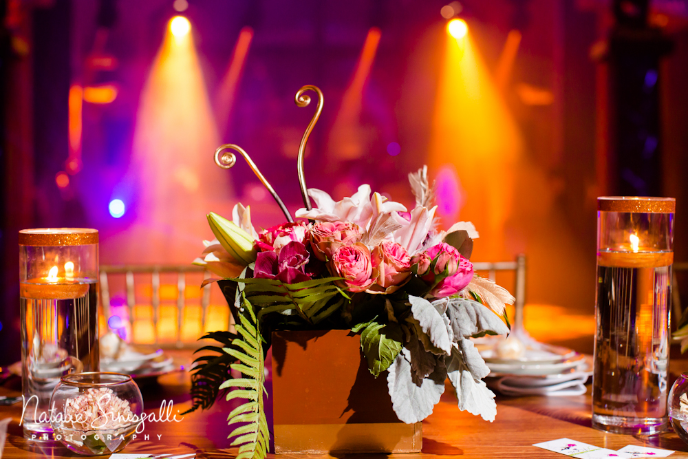 Lighting by  Encore Events   | Florals by  Stacy K Floral  | Venue: Casa Larga
