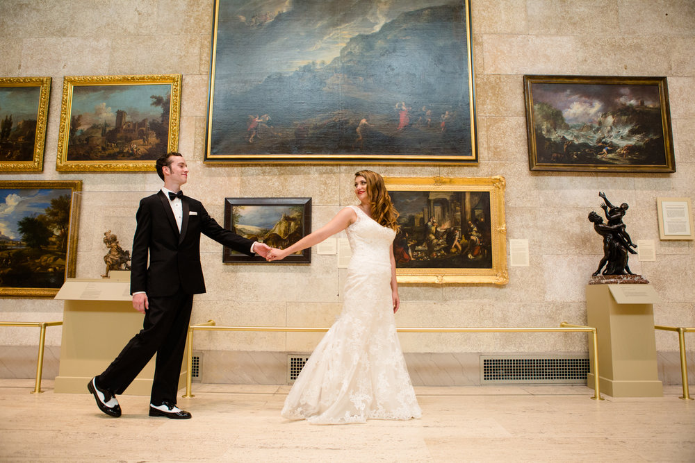 Michelle Paul & James Gallagher | Memorial Art Gallery