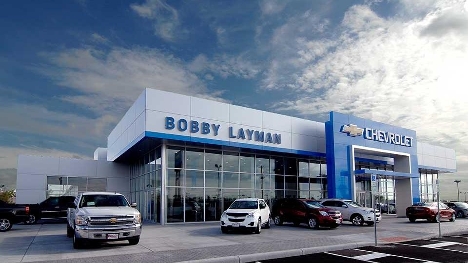 "Bobby Layman<br><em style=""font-size: 14px"">Chevrolet</em>"