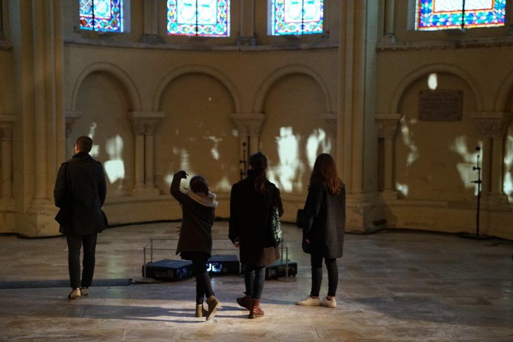 Installation: Time Lenses @ Corps dessinant - Musée des arts et métiers (Paris, France)