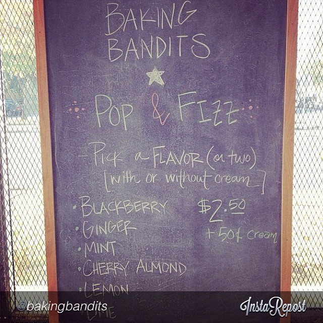 "Happening now!! by @bakingbandits ""See y'all soon! #popandfizz from 4-7pm! #bakingbandits #revivebham #revivewoodlawn #instagrambham #walkeatshop @revivebirmingham"""