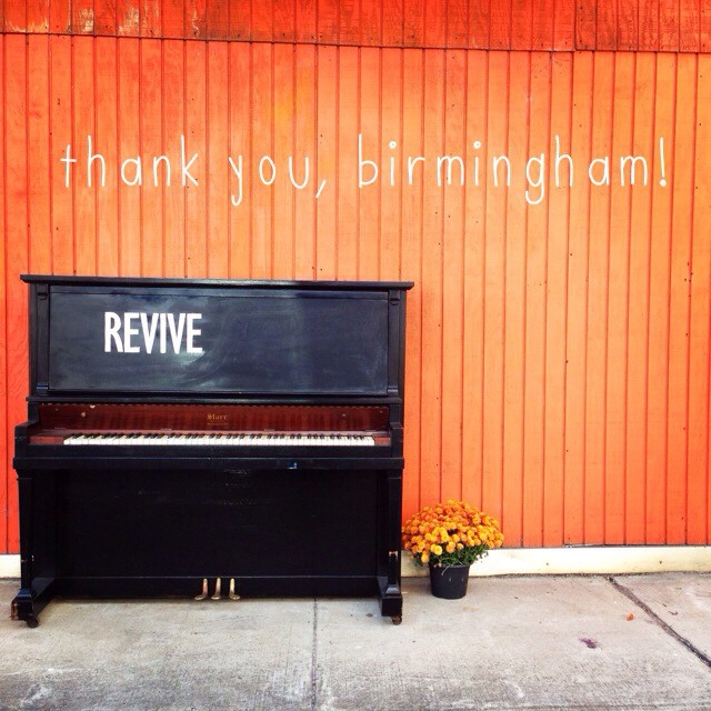 That's a wrap! #revivebham