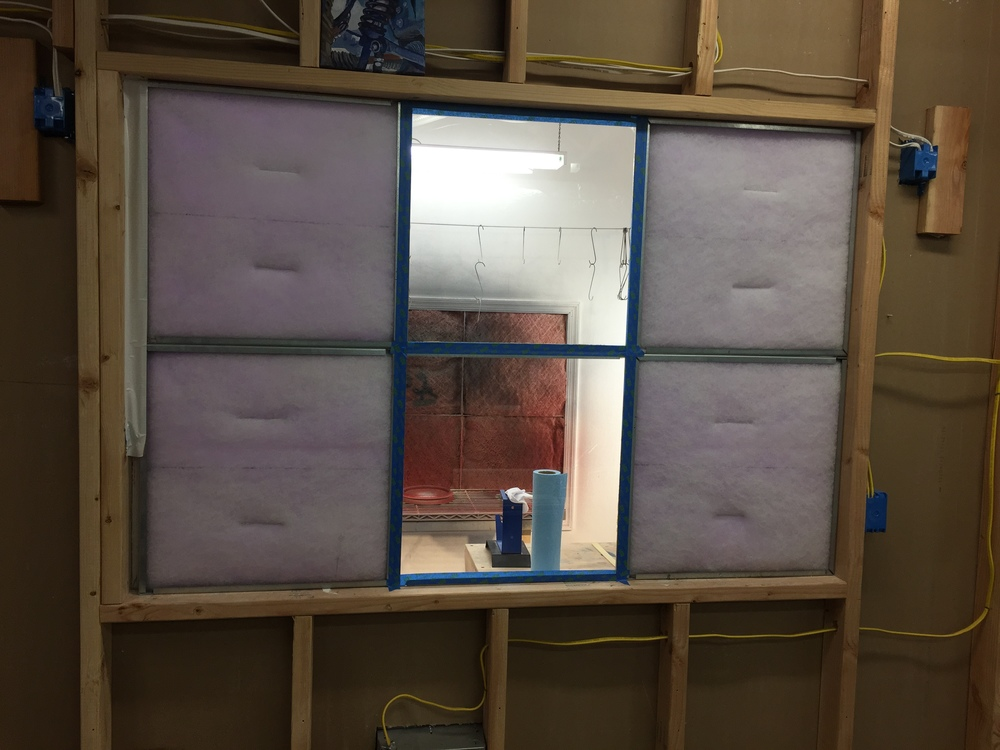 I removed two intake filters and added plexi-glass windows to the paint booth. My wife is much happier being able to see what I'm doing when I'm in there. The paint booth works better with a bit more negative-pressure in it too.