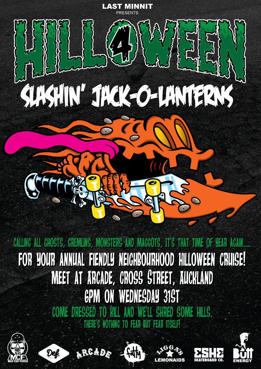 Flyer Design for Hill-O-Ween $