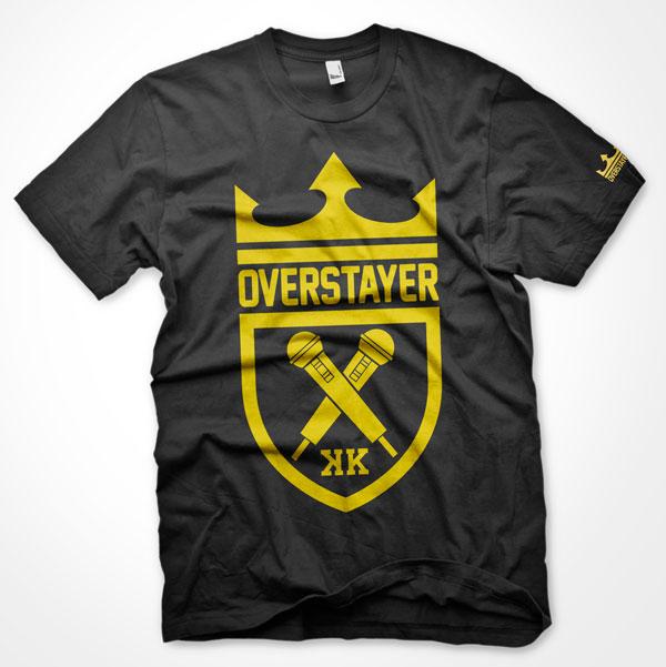 Logo design for King Kapisi's clothing brand,  Overstayer