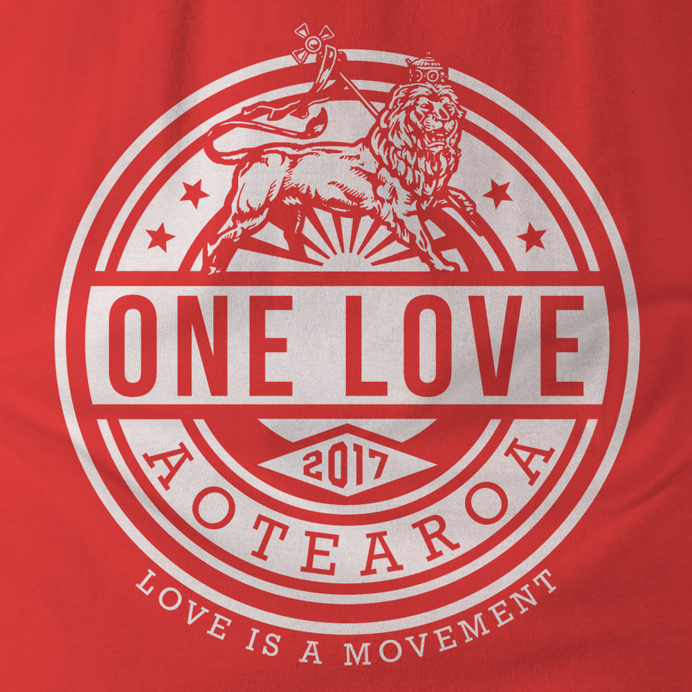 One Love T-Shirt Design