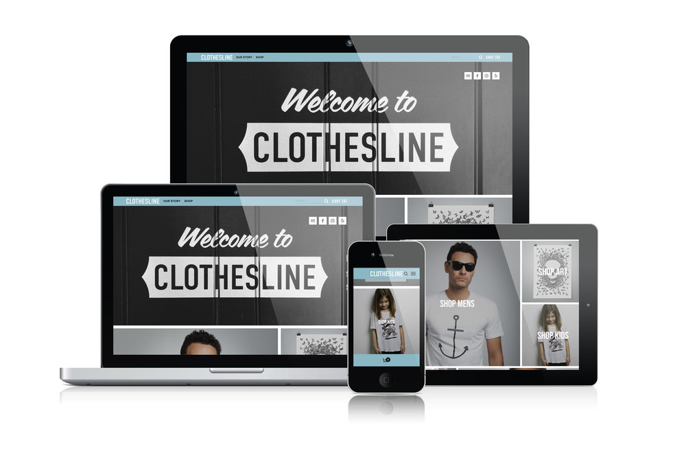 Clothesline E-Commerce