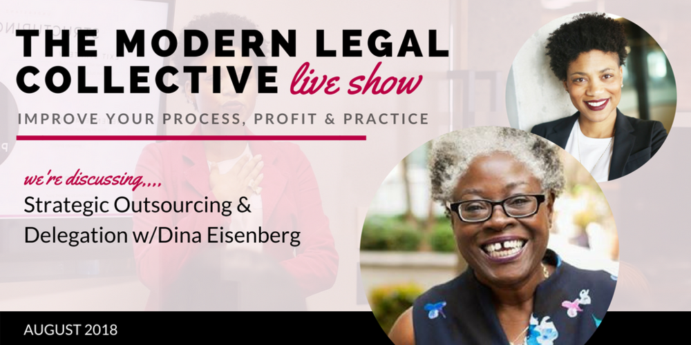 August 2018 //  Strategic Outsourcing & Delegation with Dina Eisenberg