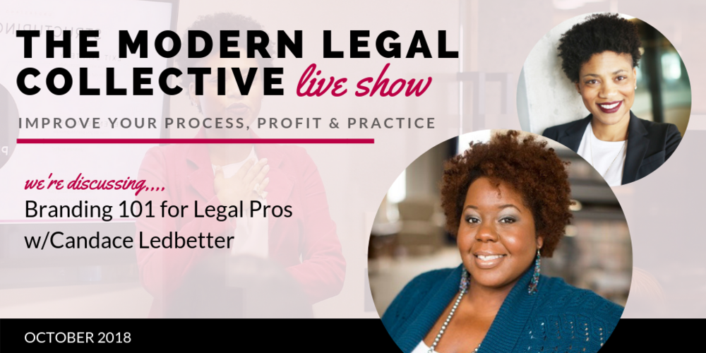 Branding 101 for Legal Pros with Candace Ledbeter