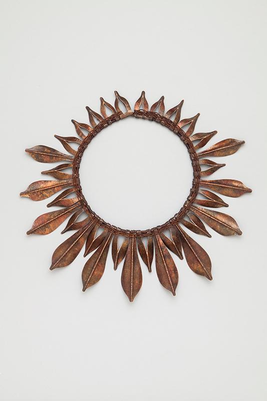Autumn Leaves collar