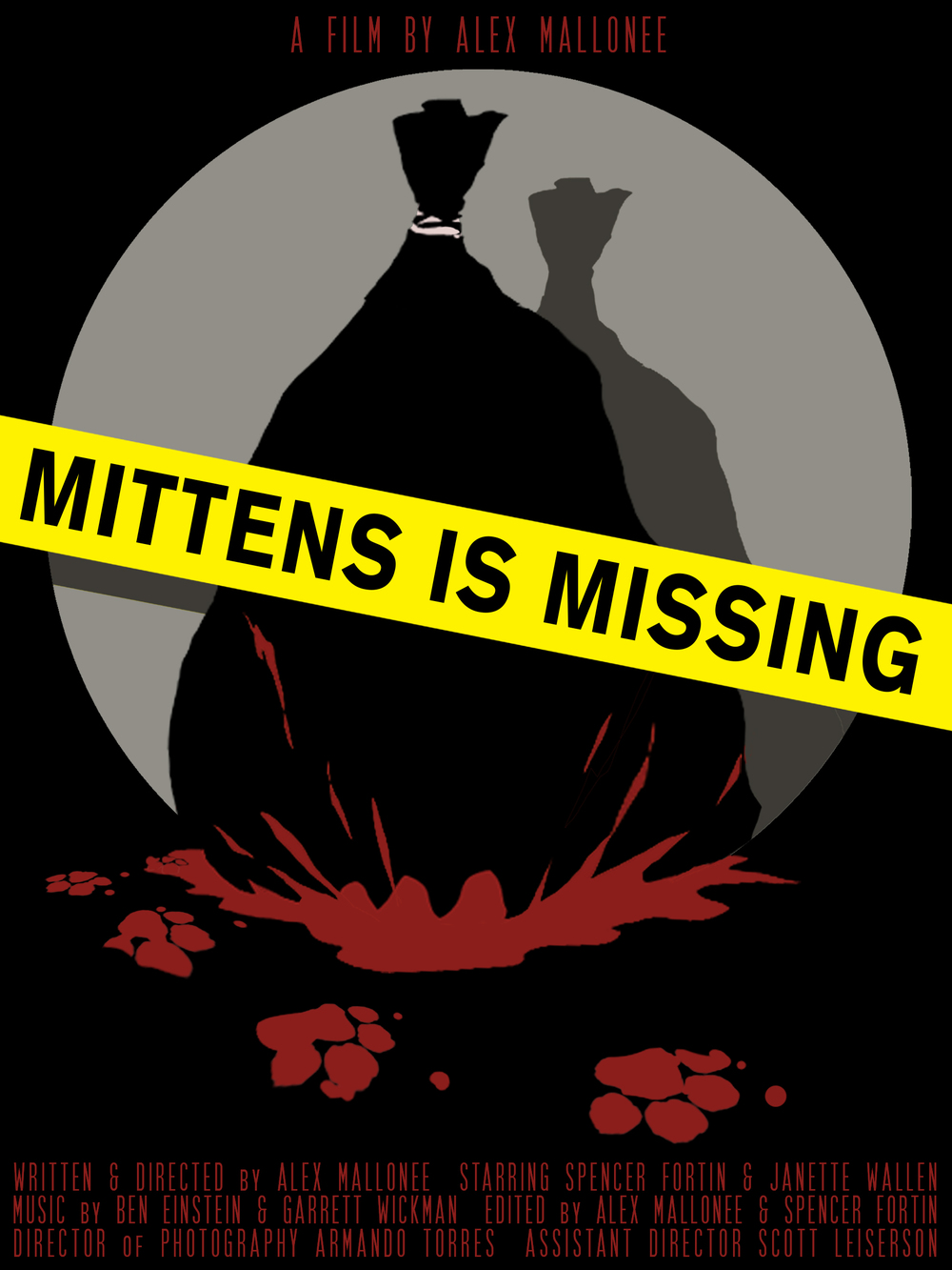 Mittens Is Missing - Official Poster by Cody Blocker