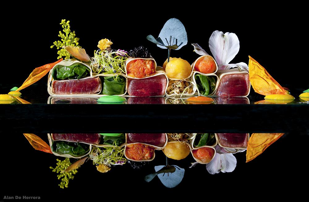 Riverside food photographer