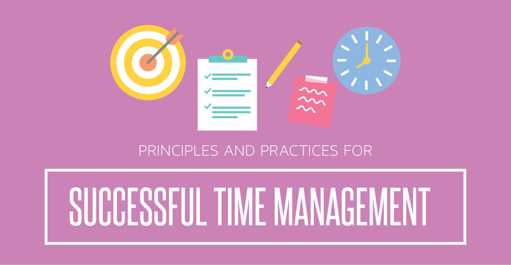 principles and practices for successful time management