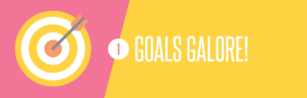 Time management goals galore