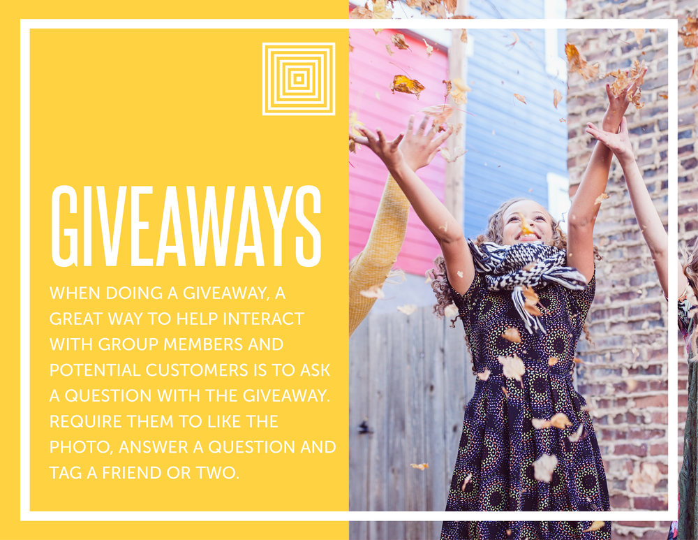 How to promote your facebook group with giveaways