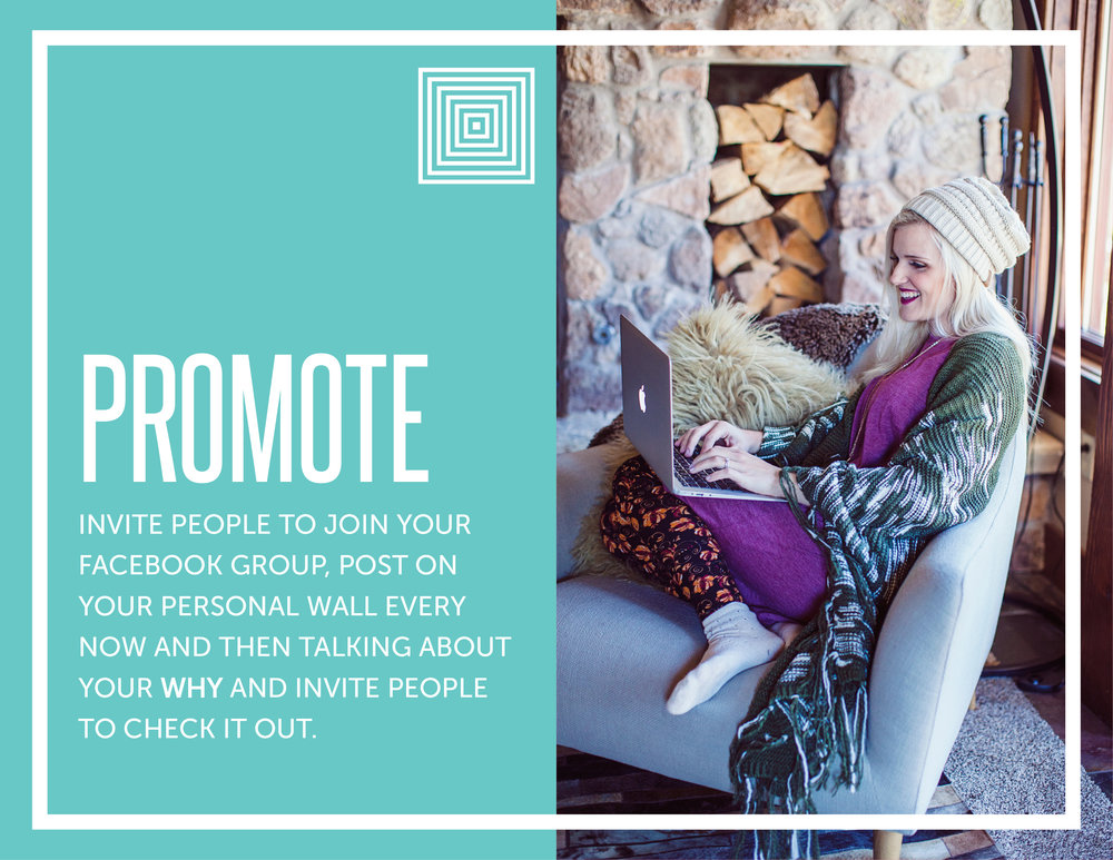 How to promote your Facebook group via promotion