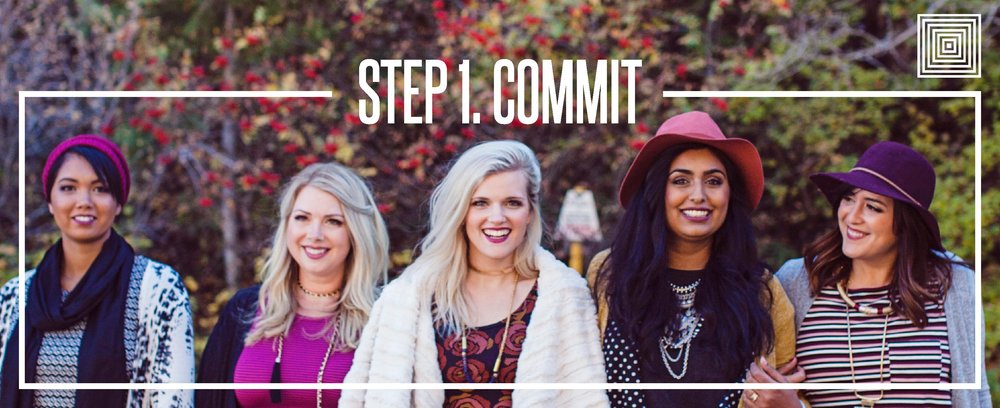 LuLaRoe 72 hour game plan step 1 commit