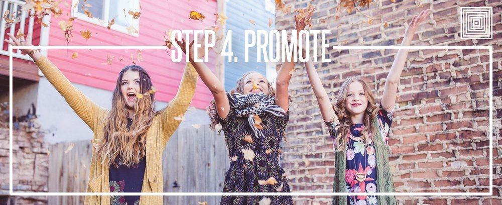 LuLaRoe 72 hour game plan step 4 promote