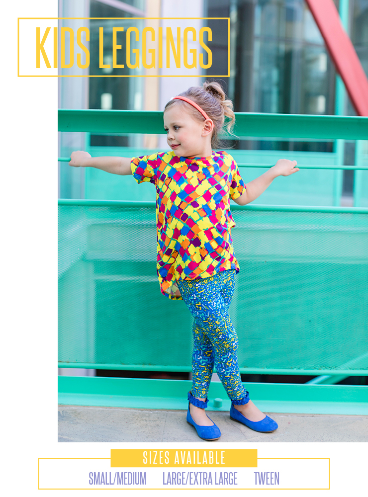 Lularoe Kids Leggings Size Chart