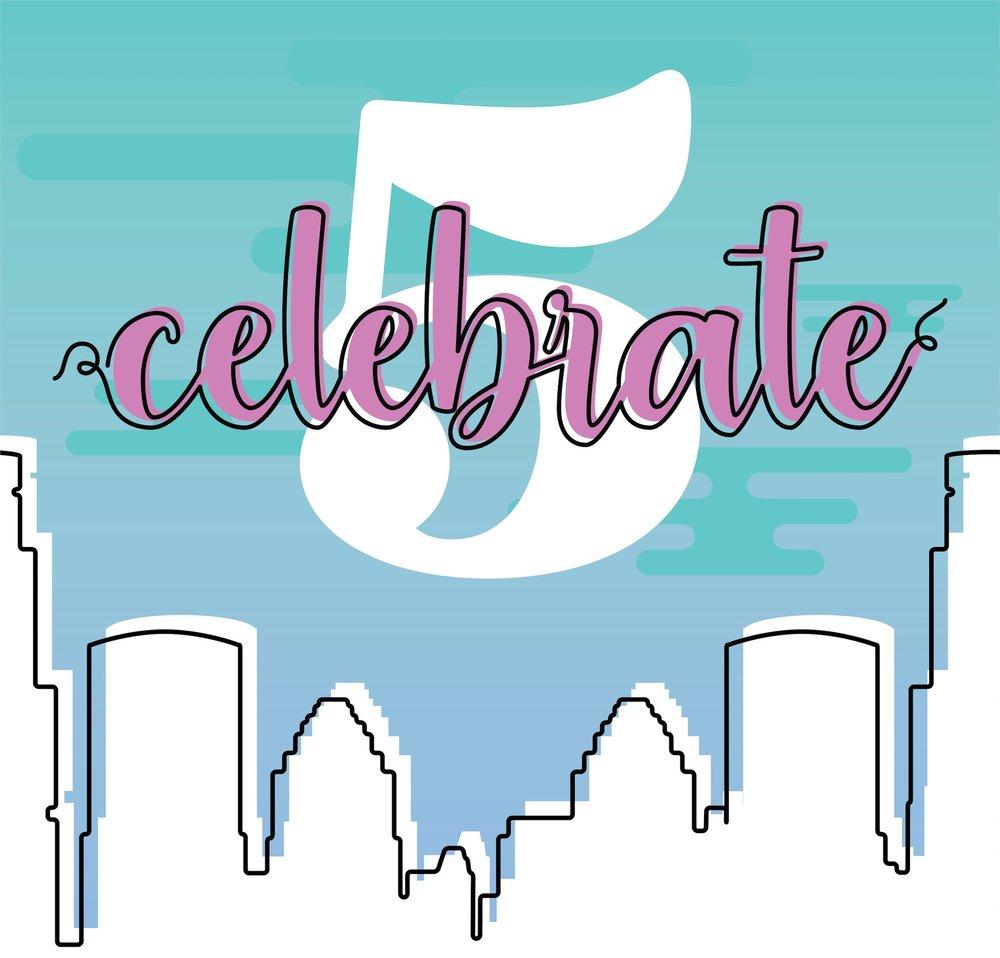 CELEBRATE 5 - GUEST INVITE