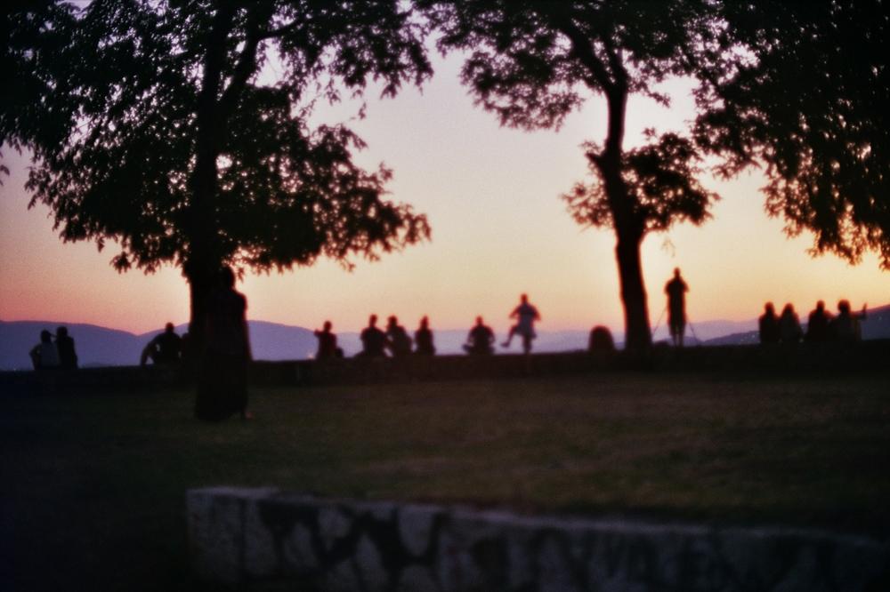 The last sunset of Ramadan in Sarajevo