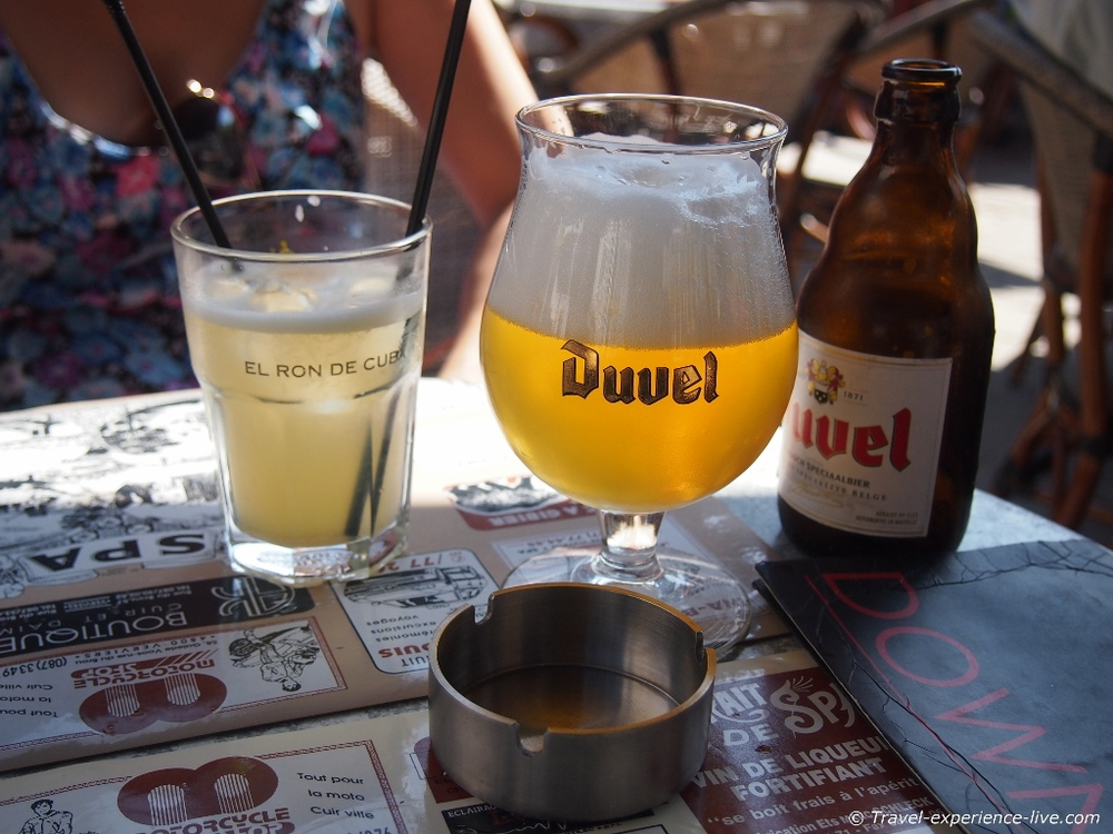 Duvel, one of Belgium's most popular beers (and strongest)