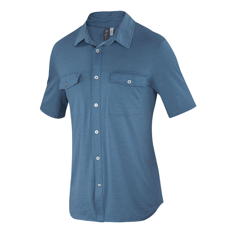 2.) Ibex Merino Wool All In Shirt