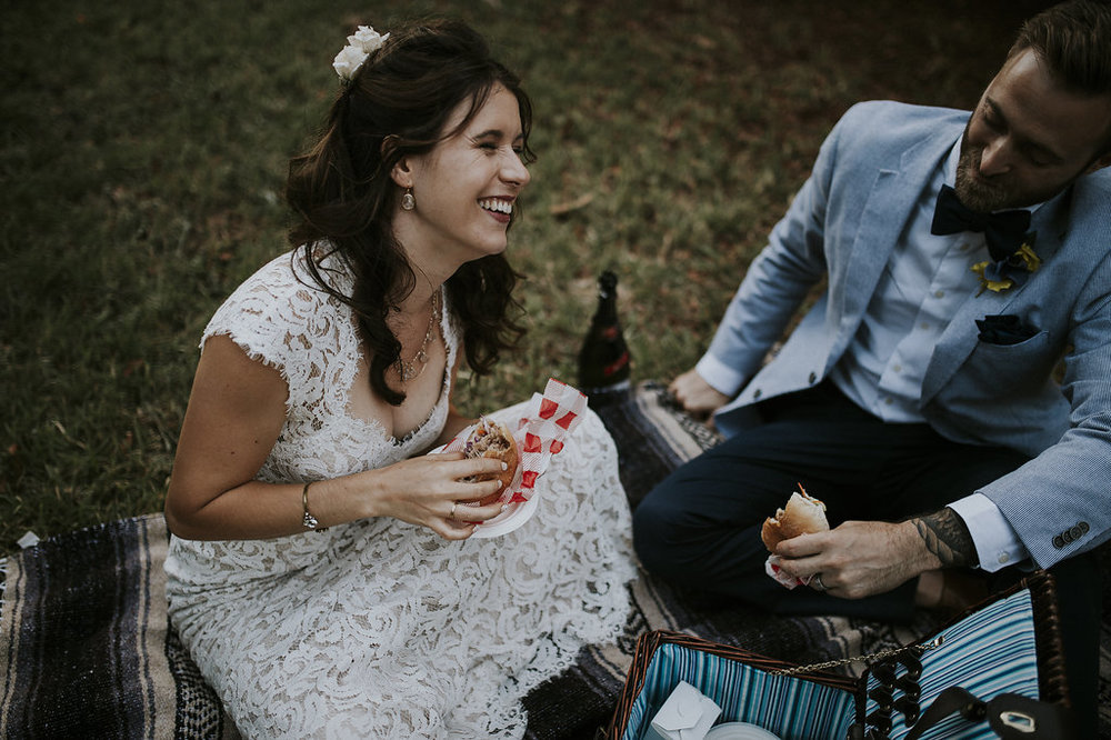 Wedding diets are the worst. Wedding picnics are the best.