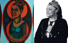 faith ringgold, self portrait, 1965