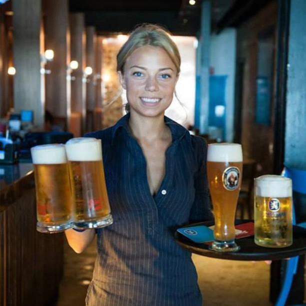 We're all about maintaining a balanced diet… #humpday #beer #bavarianbiercafe #balance