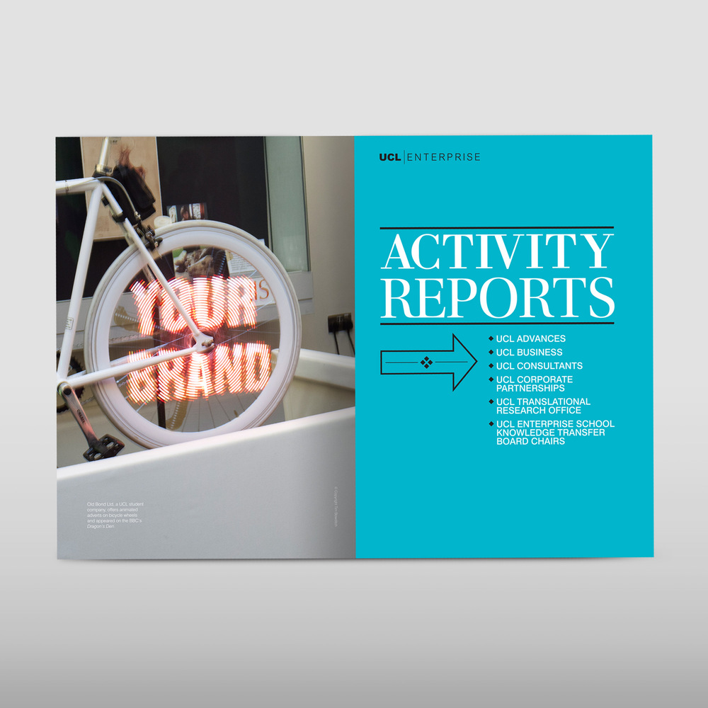 University college London year report design agency.jpg