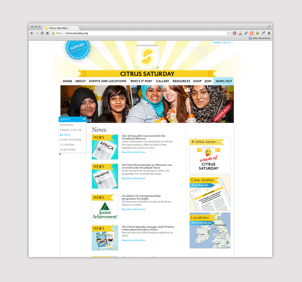 news page web design for charity.jpg