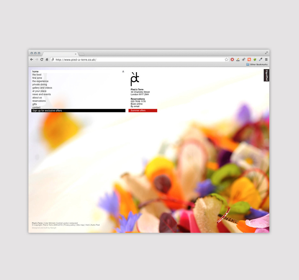 web design and build for restaurant london.jpg