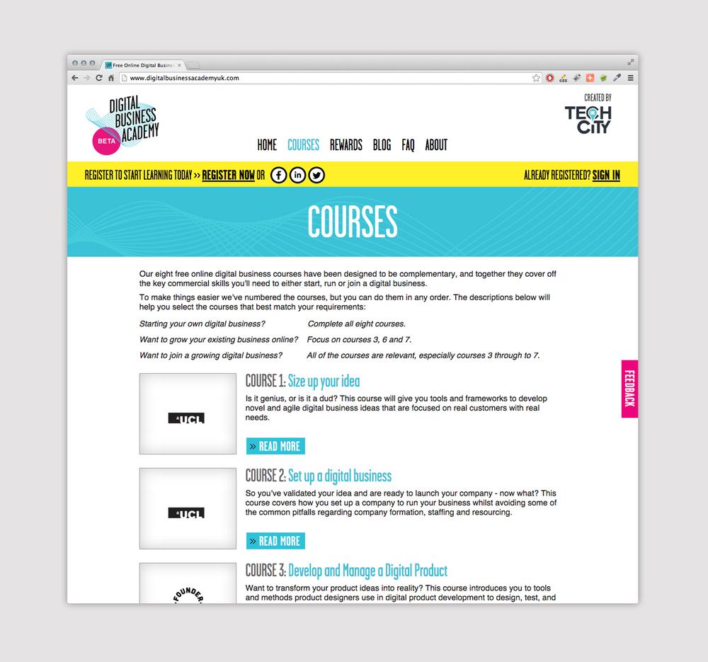 Web Design And Build Digital Uk Programme