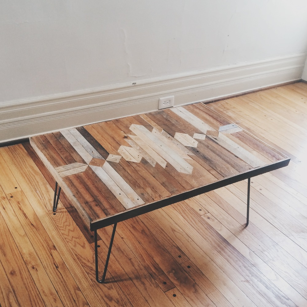 Lath Art Coffee Table Class $325