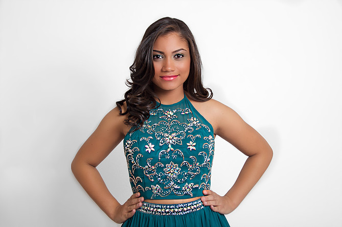 MELANIE ALMENAS Queens' Outstanding Teen Talent: Liturgical Dance Platform: Break the Mold, Learn to Code