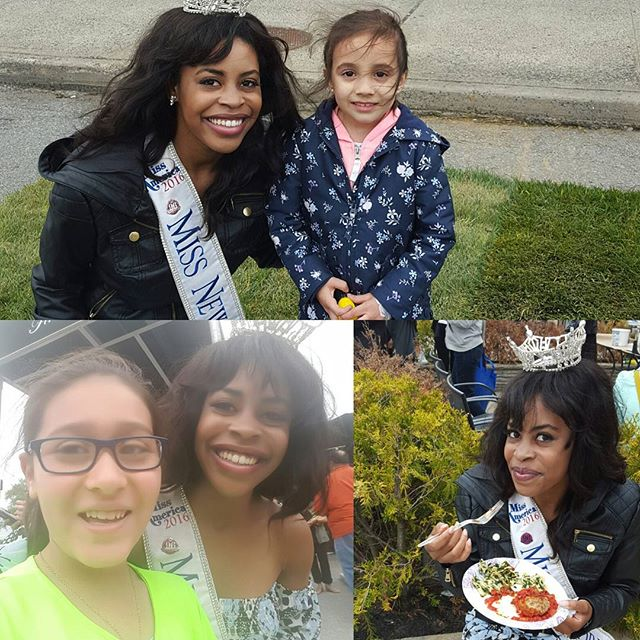 I had such a blast at the Victory Blvd Festival! It was great to see my amazing sponsor, Jimmy's Fine Jewelry and try such yummy food. #MissNewYork #festival