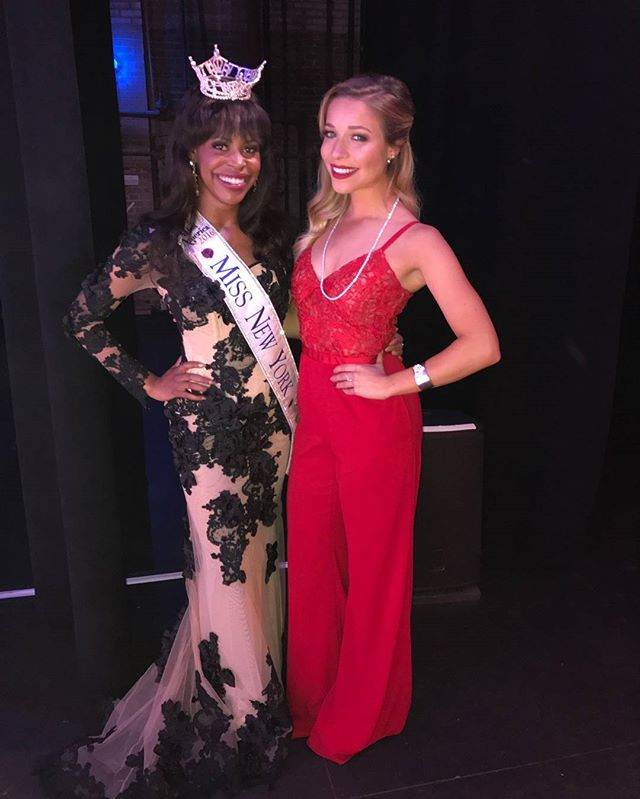 Prelims for Miss New York are officially done!  What a great two nights and I even get to see the fantastic and always fabulous @kirakazantsev  #cantshakethatsparkle