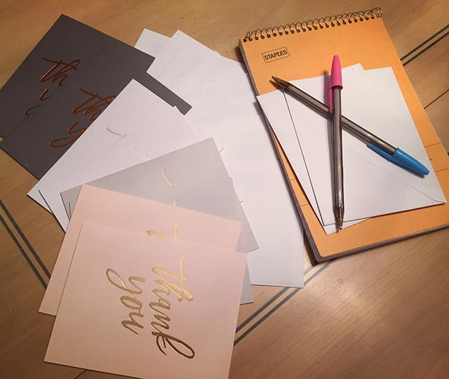 Spending this quiet Saturday night writing to my sisterhood of support ❤️ The Miss New York Class of 2017 ❤✒️📬@missnewyorkmao #MissNewYork #thankyounotes #iconicsisterhood #MNYO #MAO