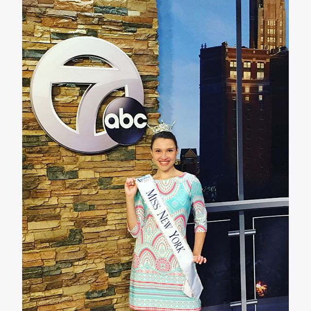 Thank you to Channel 7's AM Buffalo and Linda Pellegrino for having me on the show this morning! I could chat all day about how much I absolutely love my job! ☺️ #MissNewYork #RoadtoMissAmerica #tvappearance #AMBuffalo #Channel7 #WKBW @wkbw @missnewyorkmao