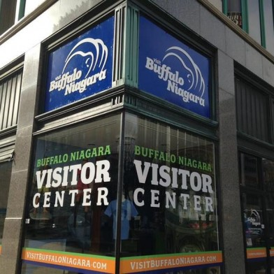 Click this link:    Buffalo Niagra Vistors Center