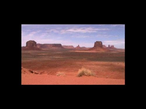 Monument Valley 1999, 3min video loop, 2000/05