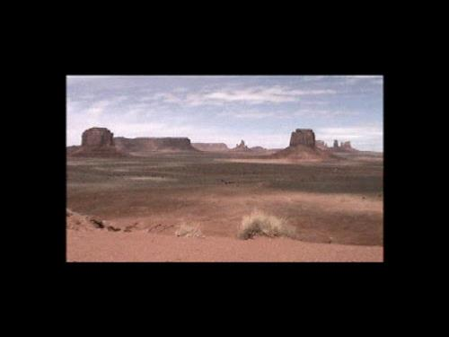 Monument Valley 1999, 3min video loop 2001/05
