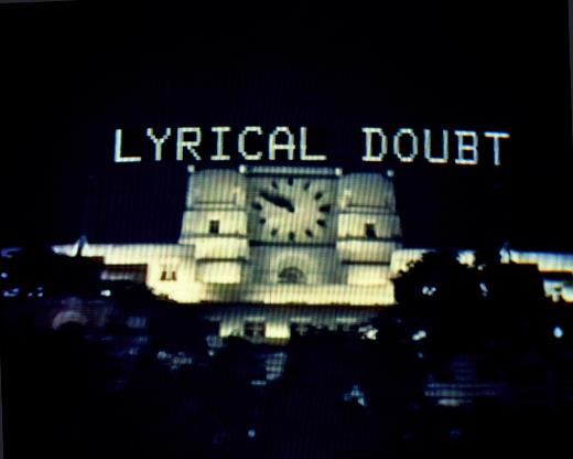 Lyrical Doubt 1984, video, 16 mins
