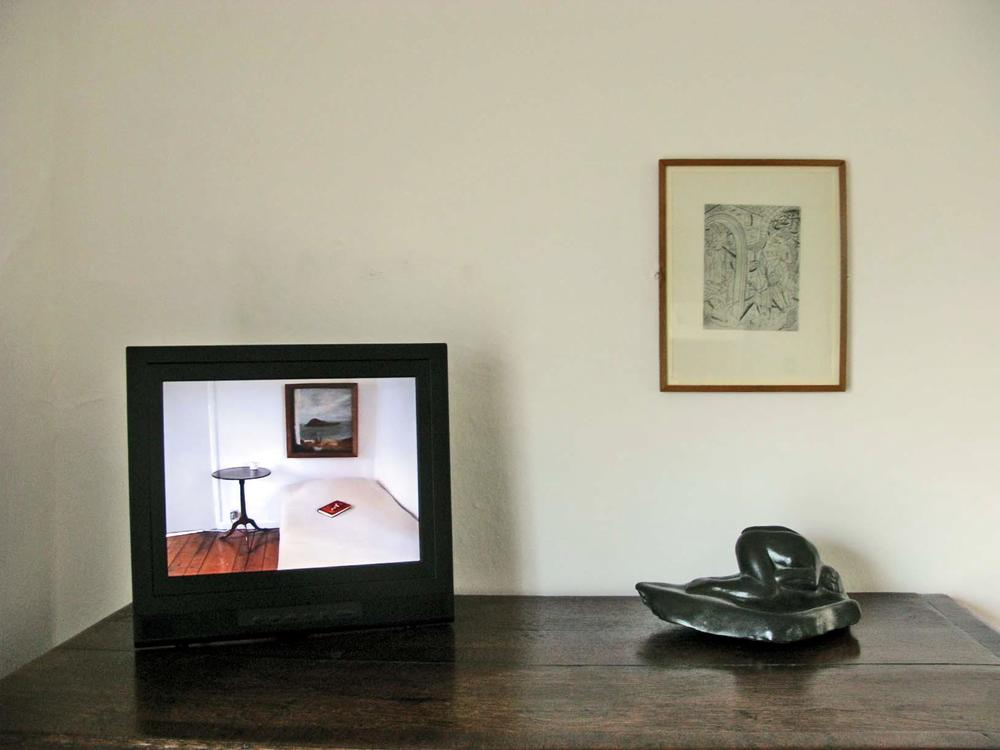 Helen's Room 1995/2009, Kettle's Yard, site specific installation, live cctv camera, & webcast